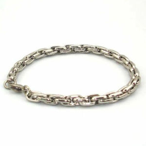 "Stainless Steel Rope Chain Bracelet Mens 8""x5mm"